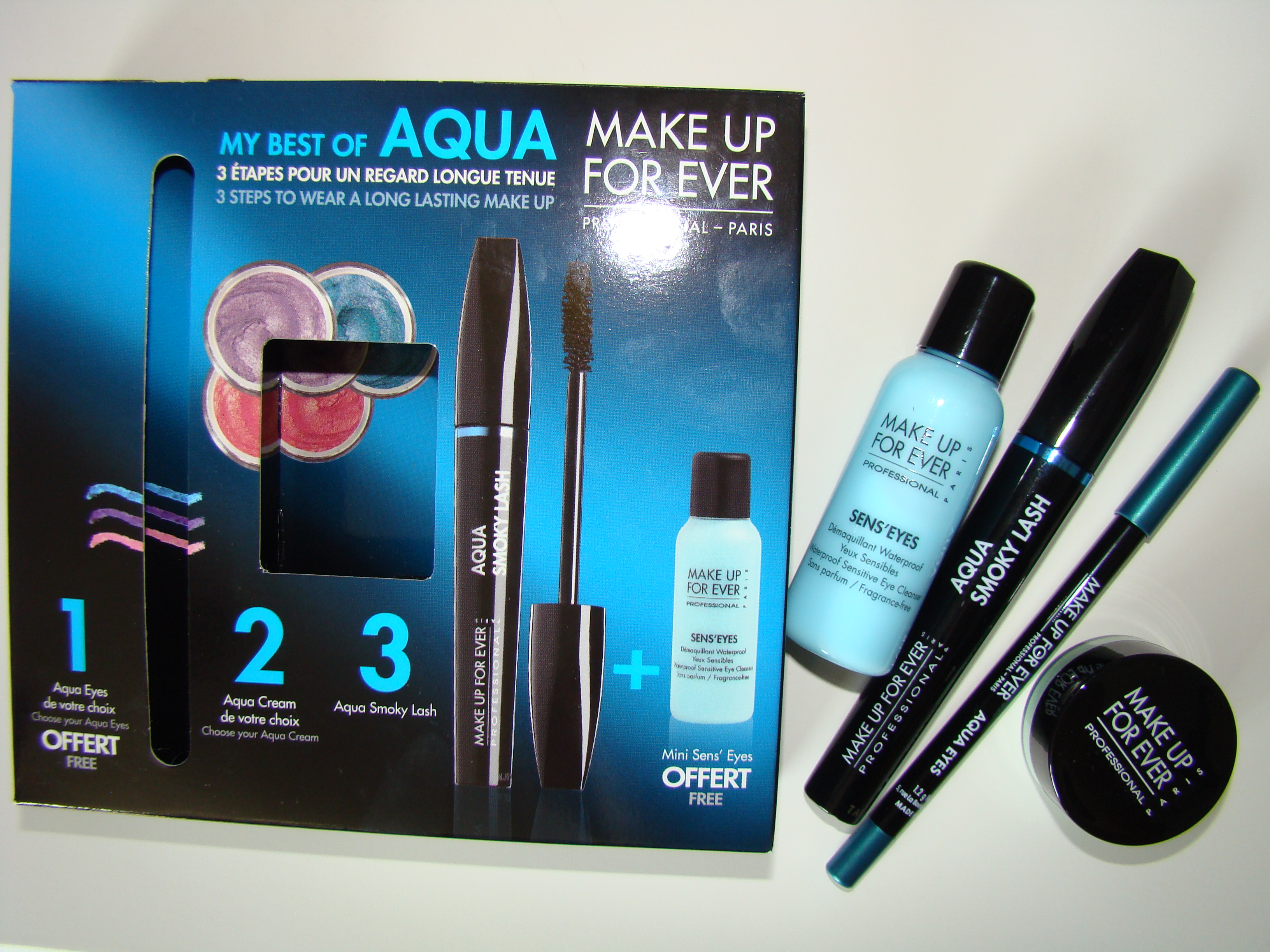 new make up forever aqua products vickisbeauty. Black Bedroom Furniture Sets. Home Design Ideas