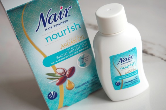 Nair Nourish Hair Removal Cream with Argan Oil / review ...